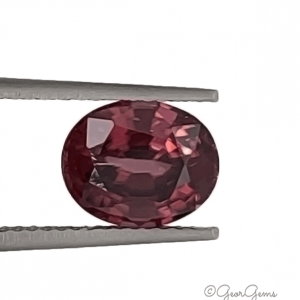 Natural Oval Shape Red Brown Zircon Gemstones for Sale South Africa