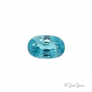 Natural Oval Shape Blue Zircon Gemstones for Sale South Africa