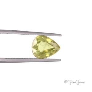 Natural Pear Shape Titanite / Sphene Gemstones for Sale South Africa