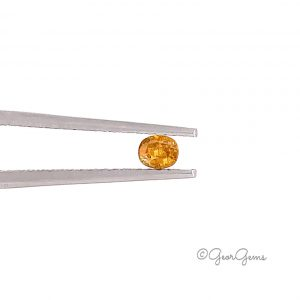 Natural Oval Shape Fancy Yellow Orange Diamonds for Sale South Africa