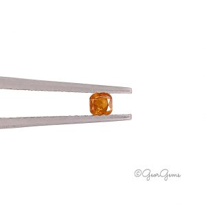 Natural Square Cushion Fancy Orange Yellow Colour Diamonds for Sale South Africa
