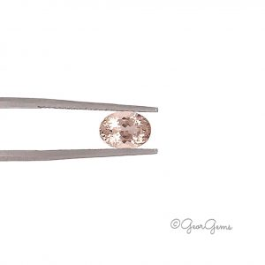 Natural Peach Pink Oval Shape Morganite for Sale South Africa