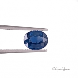 Natural Oval Shape Blue Sapphire for Sale South Africa