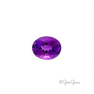 Natural Oval Amethyst Gemstone for Sale South Africa