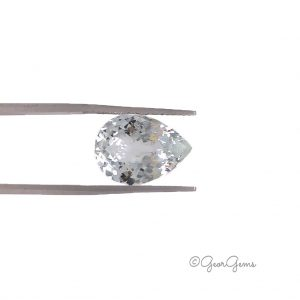 Natural Pear Shape White Topaz Gemstones for Sale South Africa