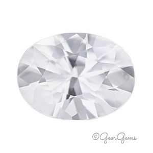 Natural Oval White Zircon for Sale South Africa