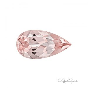 Natural Pink Pear Shape Morganite for Sale South Africa