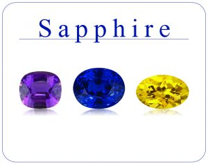 Natural Sapphire Gemstones for Sale South Africa