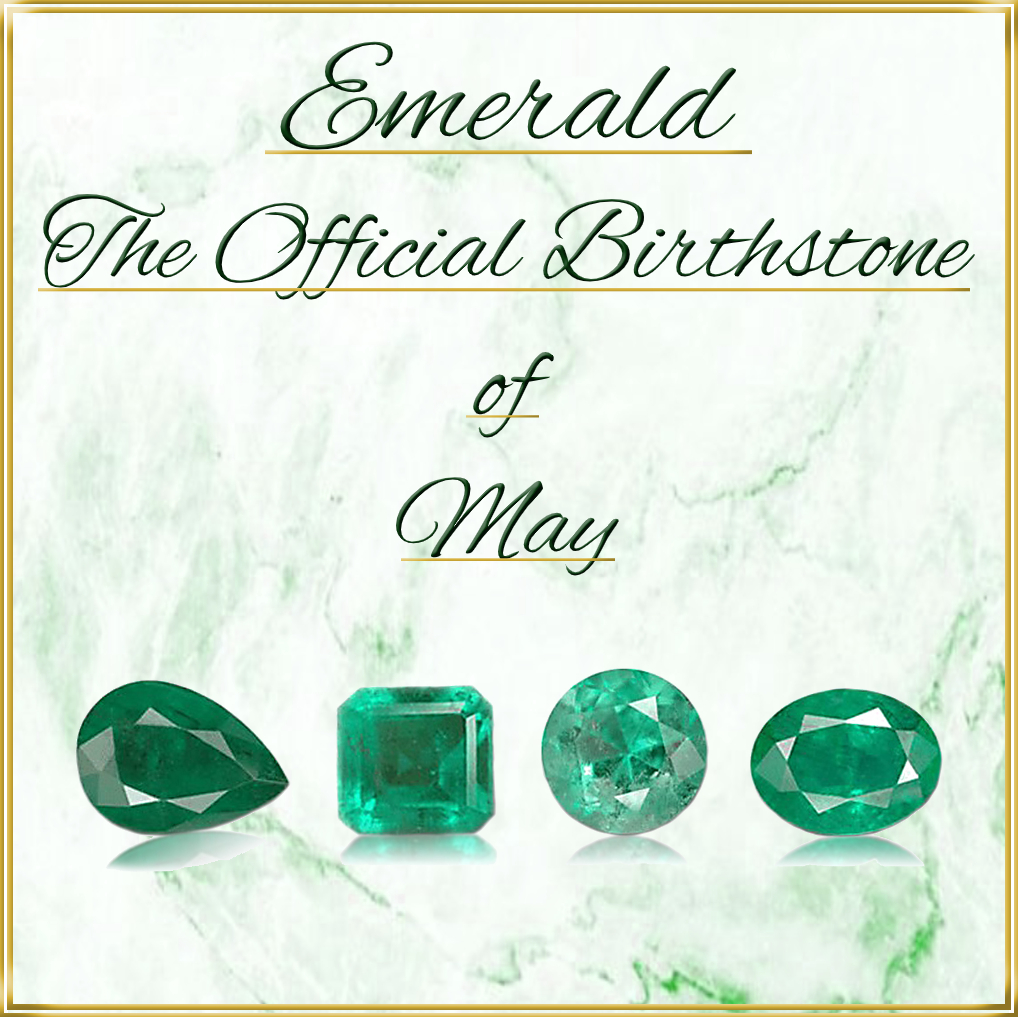 Emerald is The Official Birthstone of May for Sale Shop Natural Gemstones