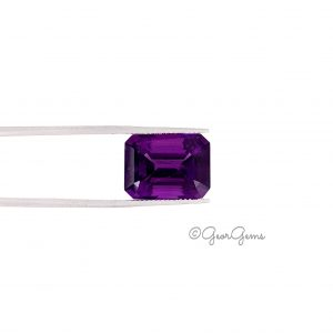 Natural Emerald Cut Amethyst Gemstones for Sale South Africa