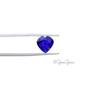 Natural Heart Shape Tanzanite Gemstones for Sale South Africa