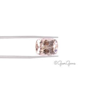 Natural Rectangular Cushion Shape Morganite Gemstones for Sale South Africa