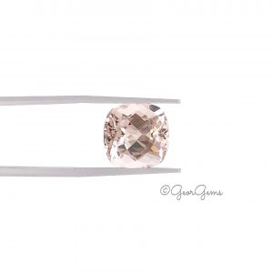 Natural Square Cushion Shape Morganite Gemstones for Sale South Africa
