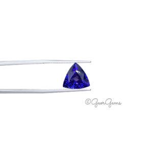 Natural Triangular Cushion Shape Tanzanite Gemstones for Sale South Africa