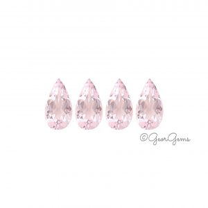 Natural Pear Shape Morganite Gemstones for Sale South Africa
