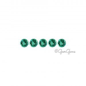 Natural Round Shape Emerald Gemstones for Sale South Africa
