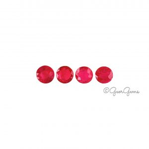 Natural Round Shape Ruby Gemstones for Sale South Africa